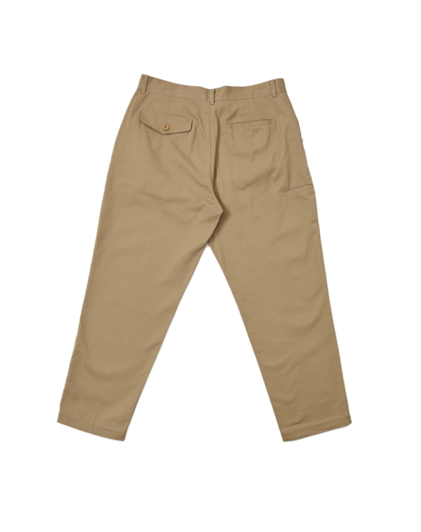 ONE-TUCK PANTS